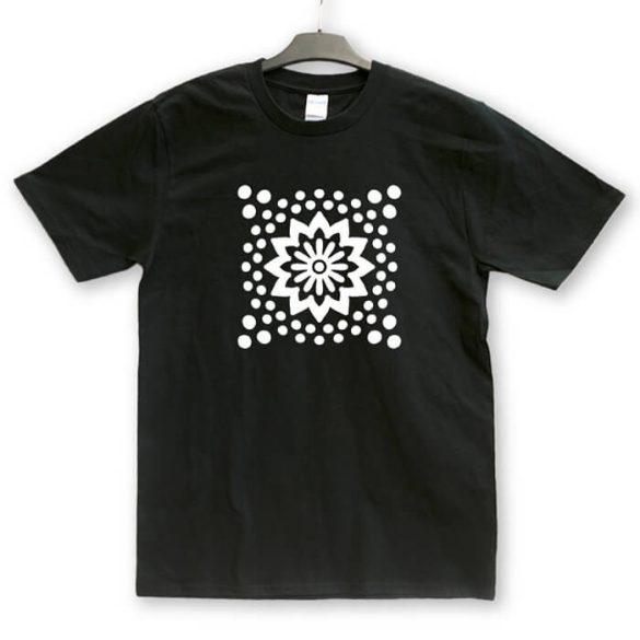 Mandala 6 mintás unisex póló