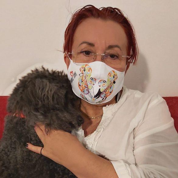 Poodle love maszkok