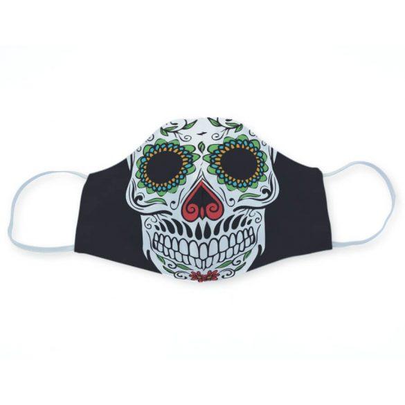 Sugar skull egyedi maszk