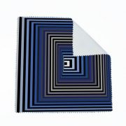 Vasarely kék négyzetek szemüvegtörlő