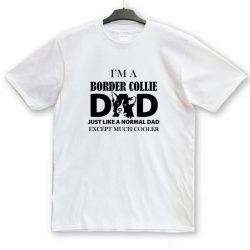 Border Collie Dad, Mum unisex póló