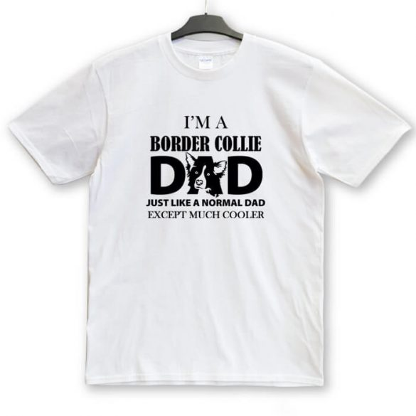 Border Collie Dad, Mum unisex póló