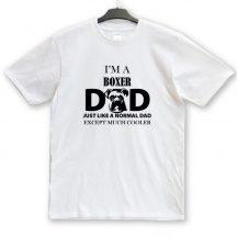 Boxer Dad, Mum unisex póló