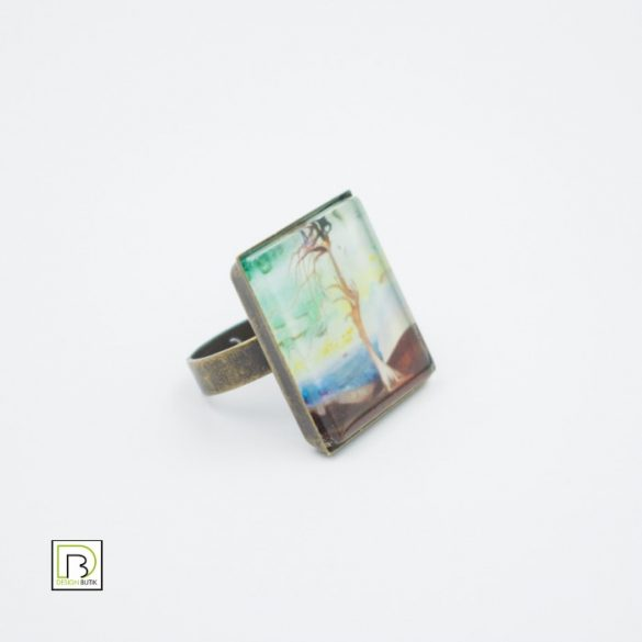 Csontváry cédrus gyűrű