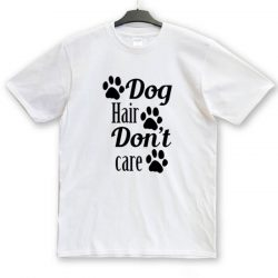 Doghair dont care unisex póló