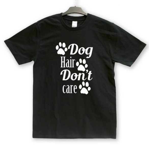 Doghair dont care unisex póló