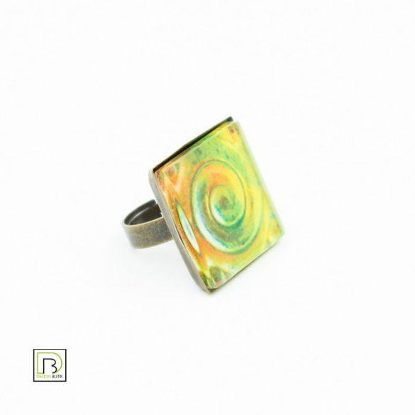 Eozin csiga gyűrű
