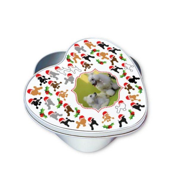 Fényképes karácsonyi jutifalatos doboz