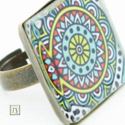Kör mandala gyűrű