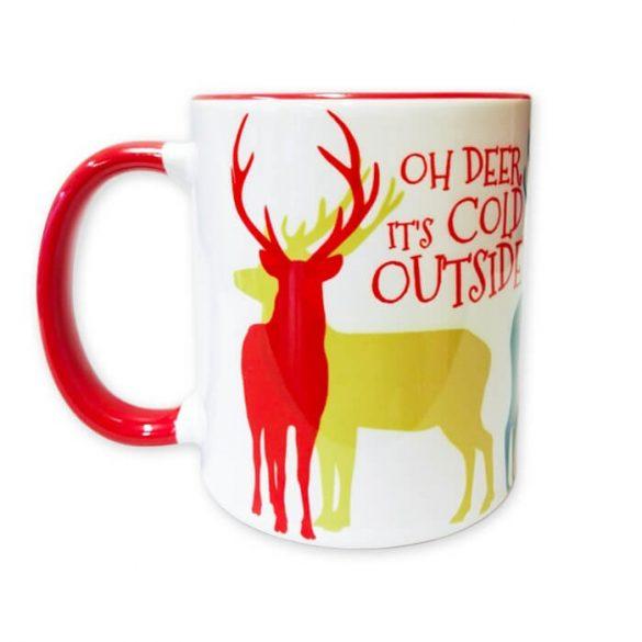 Ohh, deer bögre