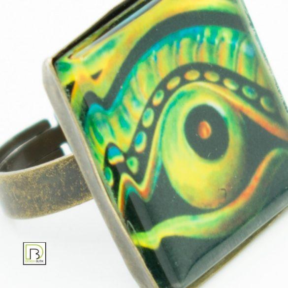 Ökörfejes gyűrű