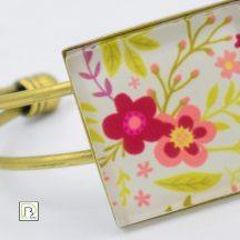 Tavaszi virág karkötő