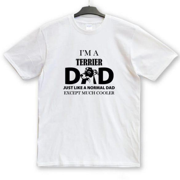 Terrier Dad, Mum unisex póló