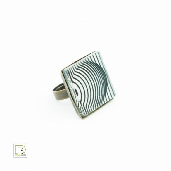 Vasarely kör gyűrű