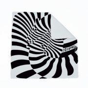 Vasarely zebrás szemüvegtörlő